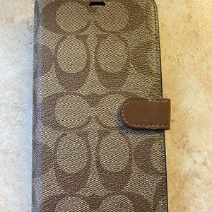 iPhone XS Max coach case